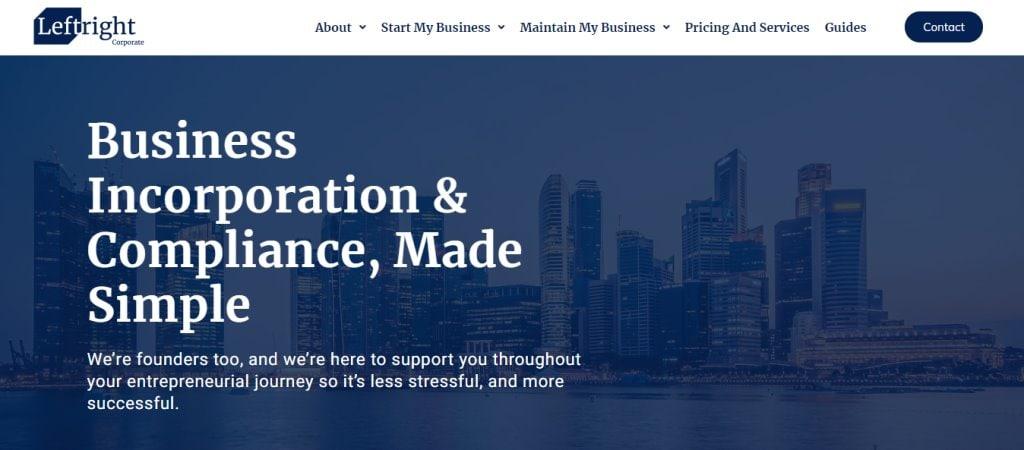 Left Right Top Corporate Secretarial Service Providers in Singapore