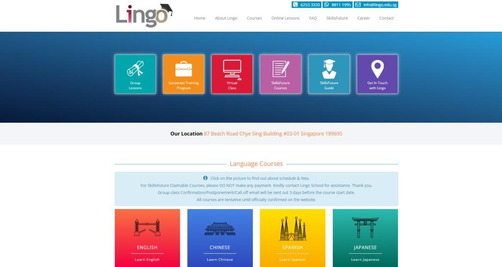 Lingo Japanese Language Schools in Singapore
