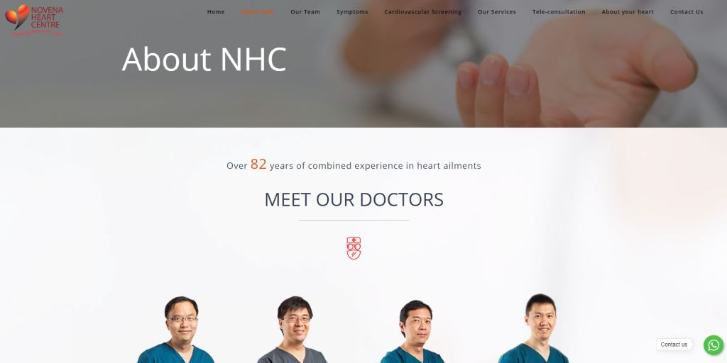 Novena Heart Center Top Cardiologists in Singapore