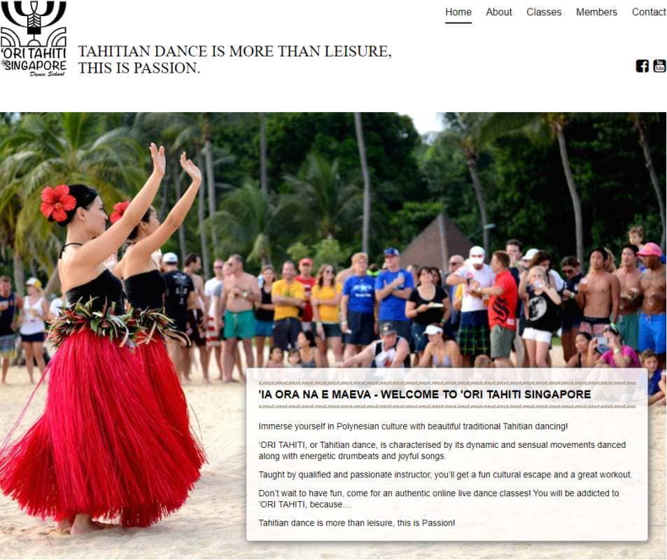 OriTahiti Top Belly Dance Classes in Singapore