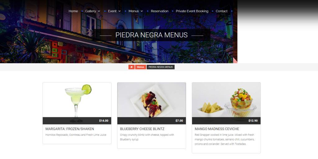 Piedra Negra Top Mexican Restaurants Singapore