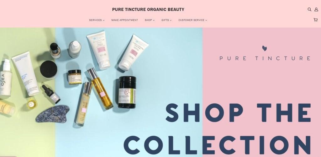 PureTincture Top Facial Spas in Singapore