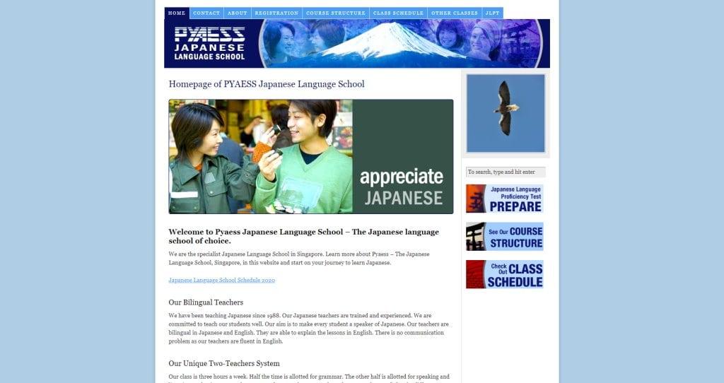 Pyaess Japanese Language Schools in Singapore