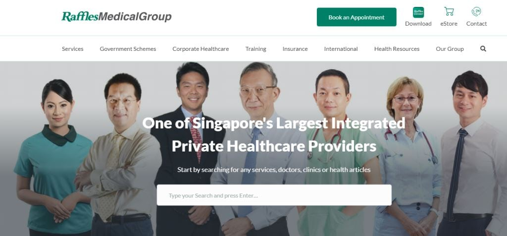 Raffles Medical Group Top Cardiologists in Singapore