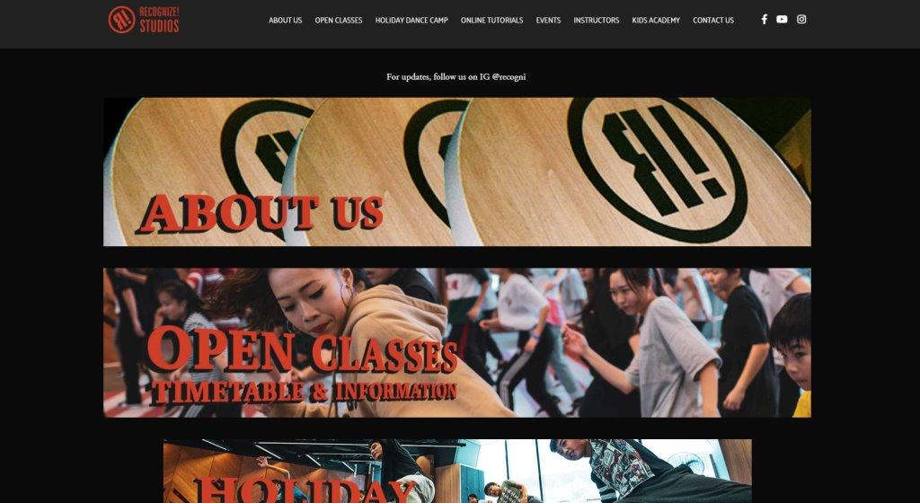 Recognize Studios Top Hip Hop Dance Classes in Singapore