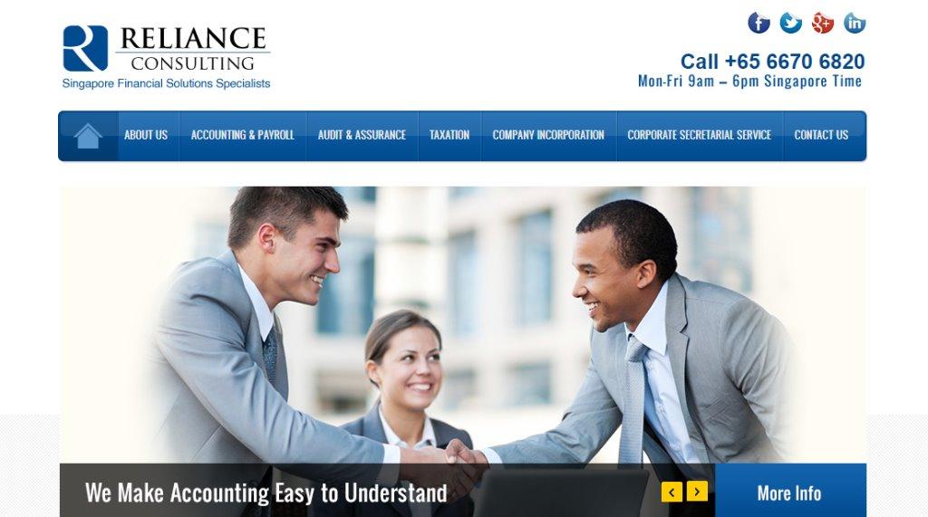 Reliance Top Corporate Secretarial Service Providers in Singapore