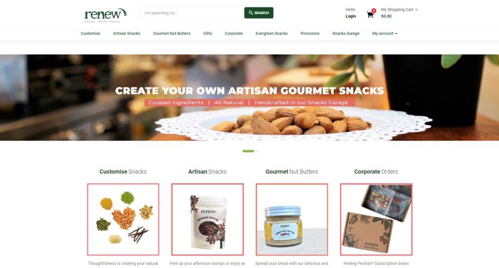 Renew Snacks Top Healthy Snack Brands Singapore