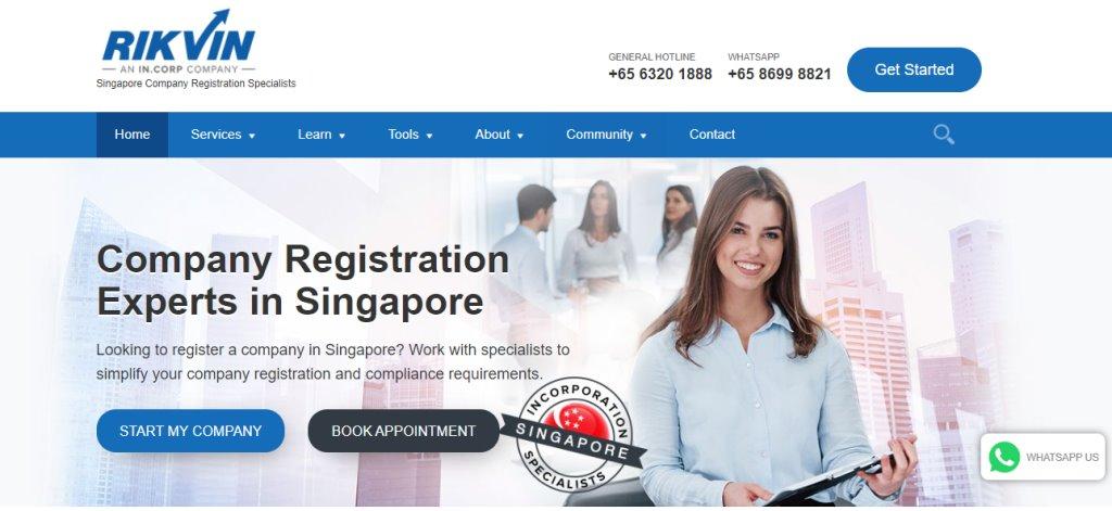 Rikvin Top Corporate Secretarial Service Providers in Singapore