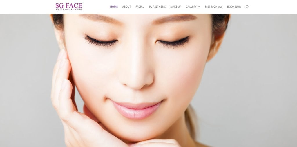 SG Face Top Facial Spas in Singapore