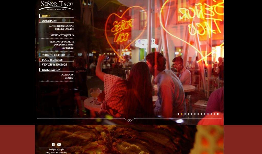 Senor Taco Top Mexican Restaurants Singapore