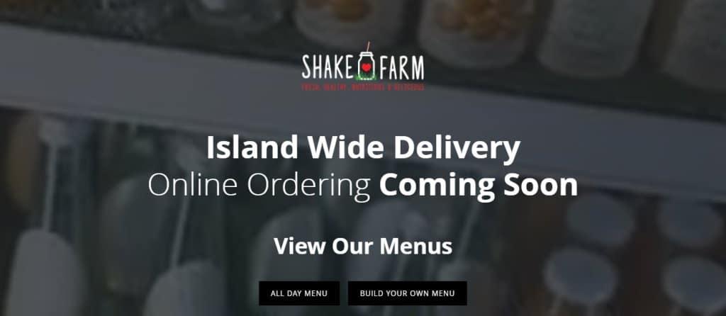 Shake Farm Top Healthy Food Restaurants In Singapore