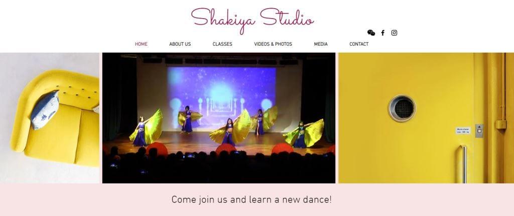 Shakiya Studio Top Belly Dance Classes in Singapore