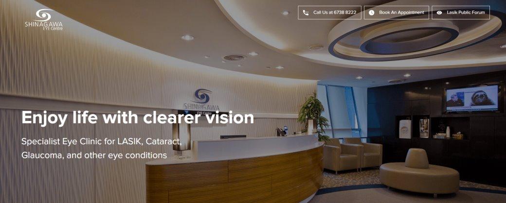 Shinagawa Top Cataract Surgery in Singapore