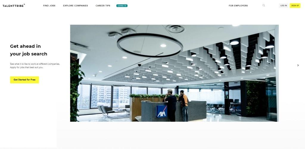 Talent Tribe job posting site singapore