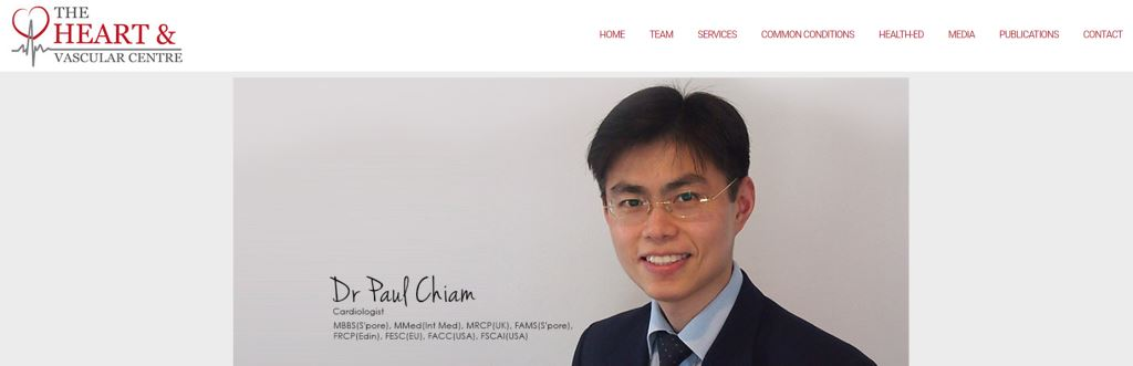 The Heart and Vascular Center Top Cardiologists in Singapore