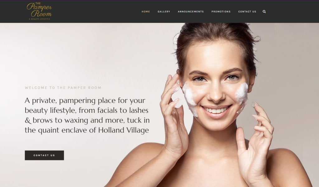 The Pamper Room Top Facial Spas in Singapore