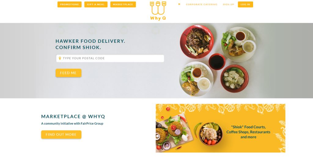 WhyQ Top Food Delivery Services in Singapore
