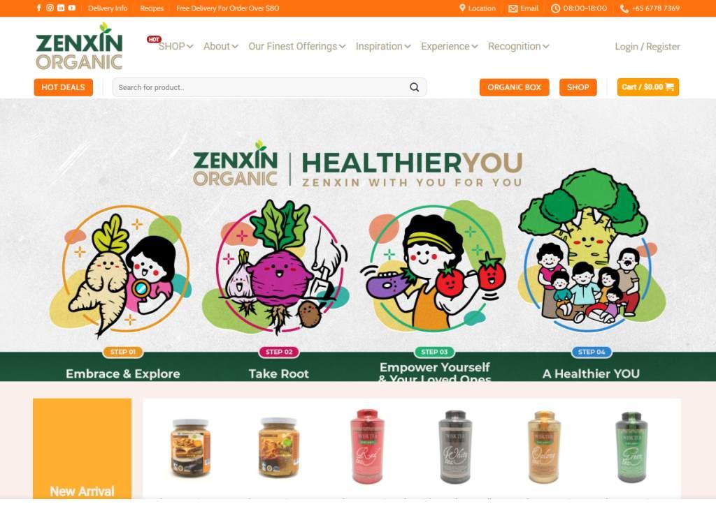 ZenXin Top Organic Food Markets In Singapore