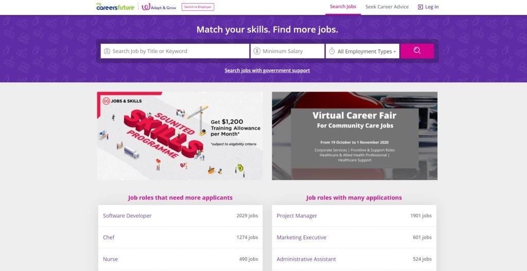 my Careers Future job posting site singapore