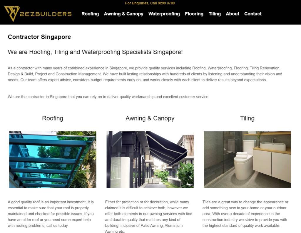 2 Ez Builders Top Toilet Renovation Services in Singapore