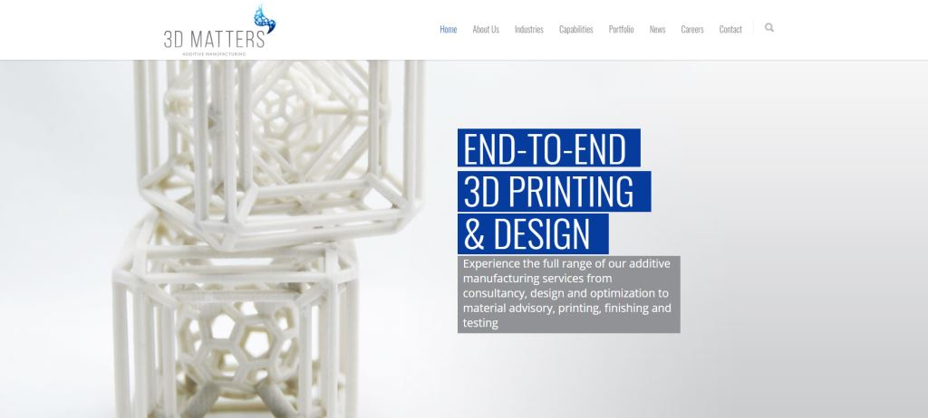 3D Matters Top 3D Printing Services Singapore