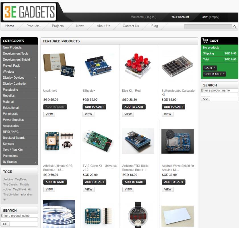 3E Gadgets Top Robotics Companies in Singapore