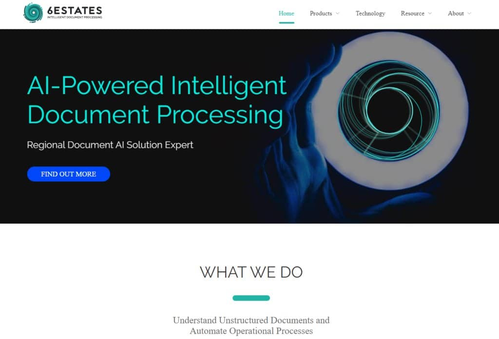 6Estates Top Artificial Intelligence providers in Singapore