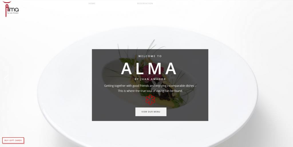 Alma Top Michelin Featured Restaurants in Singapore