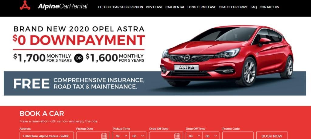 Alpine Car Rental Top Car Leasing Companies in Singapore
