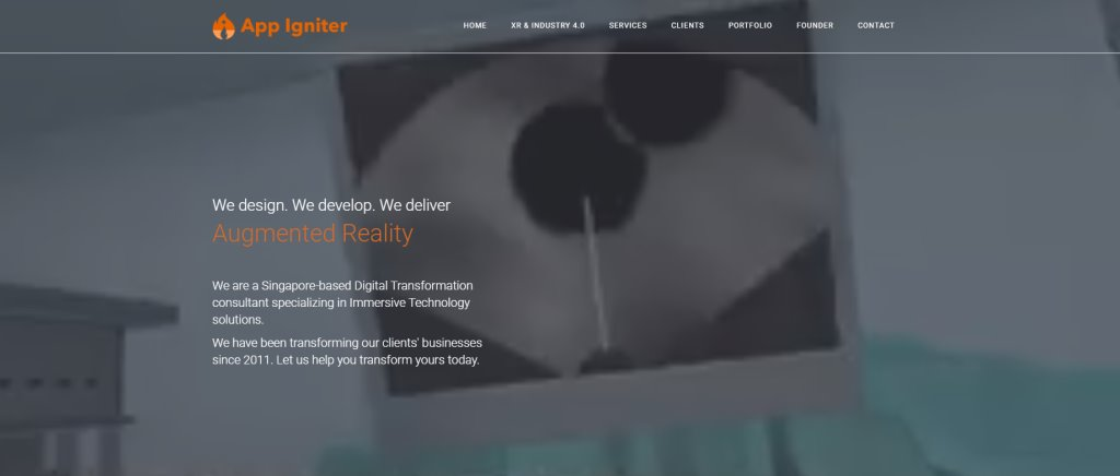 App Igniter Top Virtual Reality Providers in Singapore