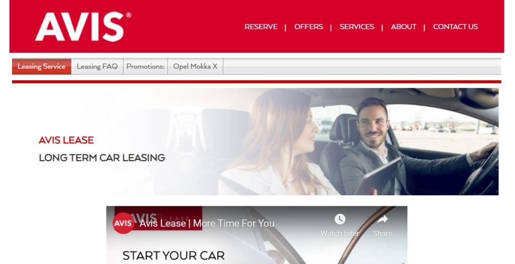 Avis Car Lease Top Car Leasing Companies in Singapore
