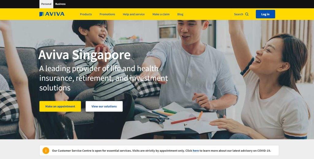 Aviva Top Life Insurance in Singapore