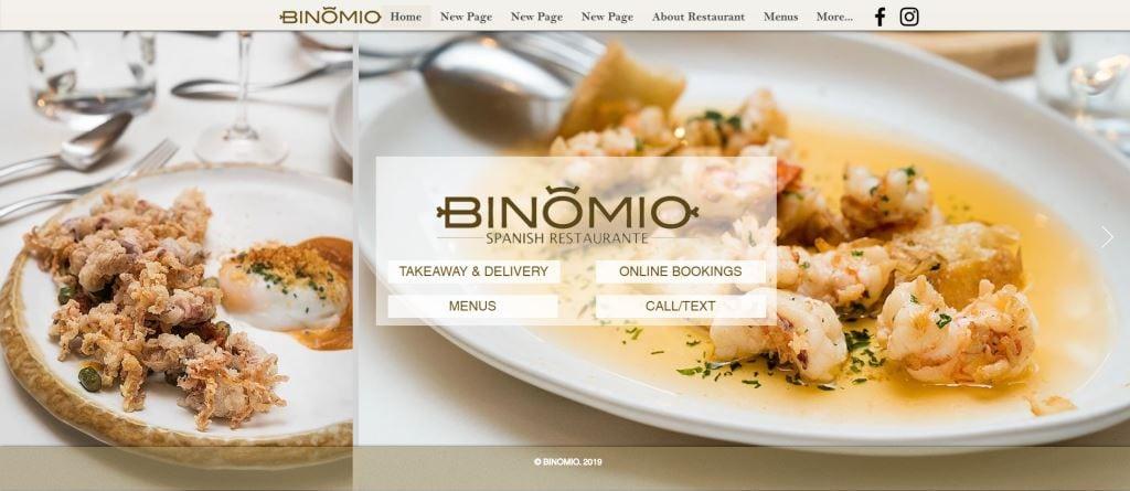 Binomio Top Western Food Restaurants in Singapore
