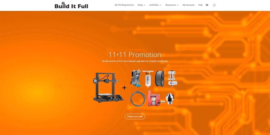 Build it Full Top 3D Printing Services Singapore