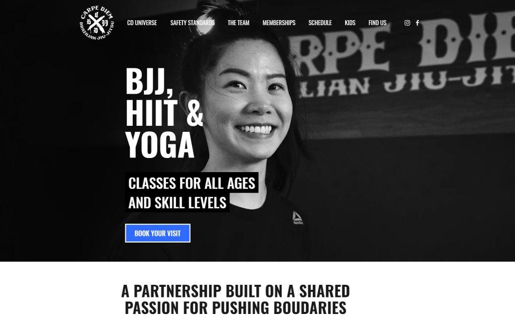 Carpe Diem BJJ Top Judo Gyms and Classes in Singapore