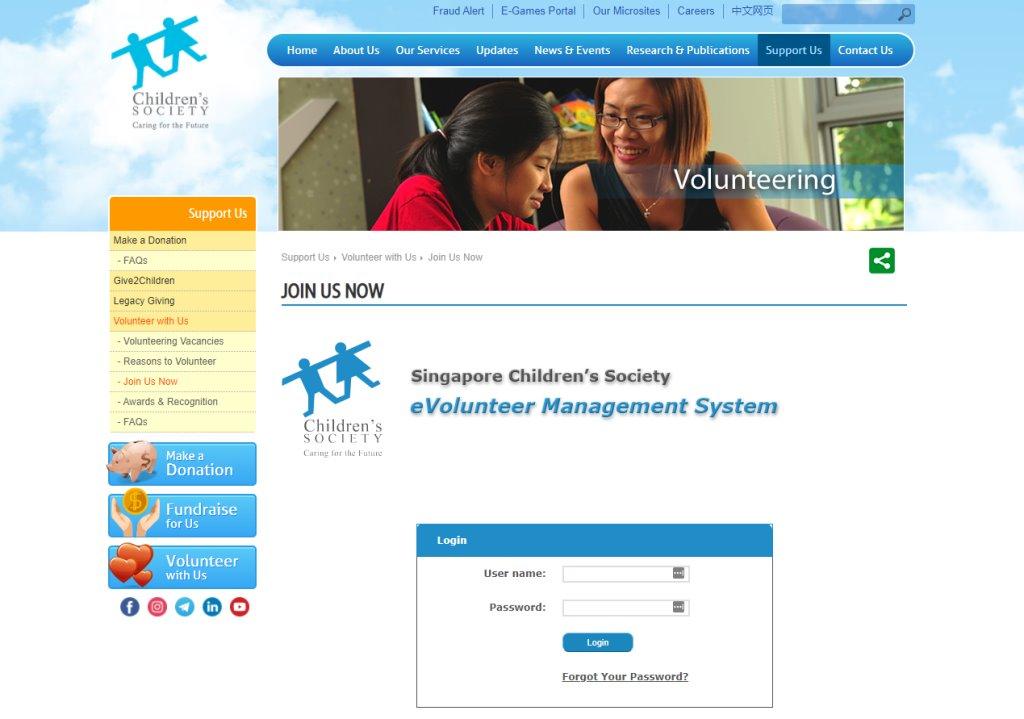 Children Society Top Volunteering Opportunities in Singapore
