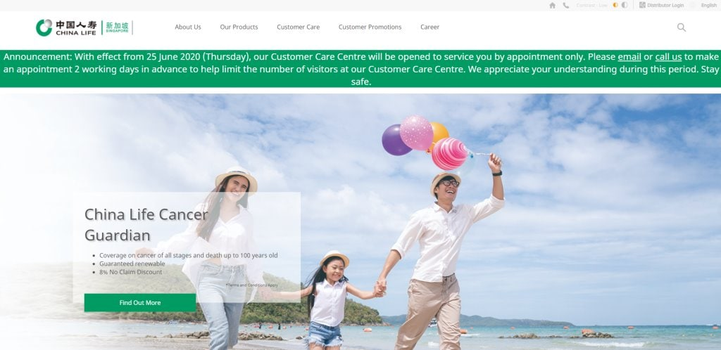 China Life Top Life Insurance in Singapore