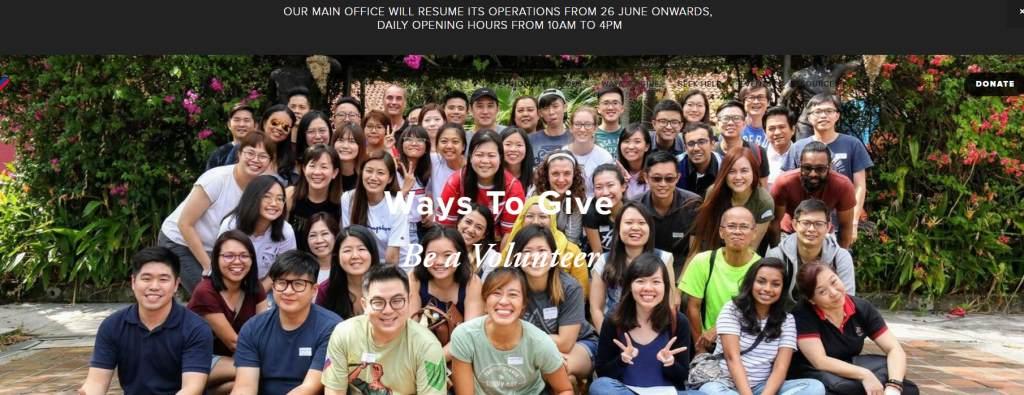 Club Rainbow Top Volunteering Opportunities in Singapore