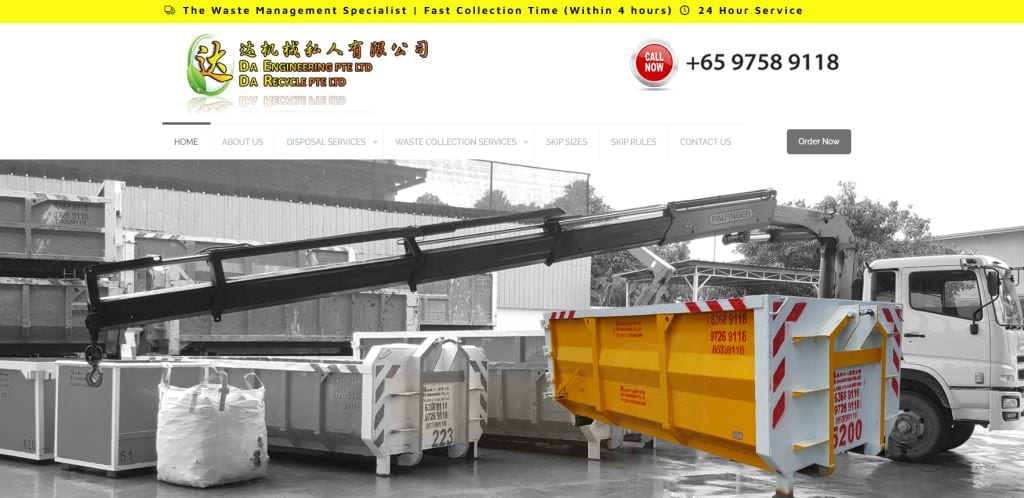 Dae Top Waste Management Services in Singapore