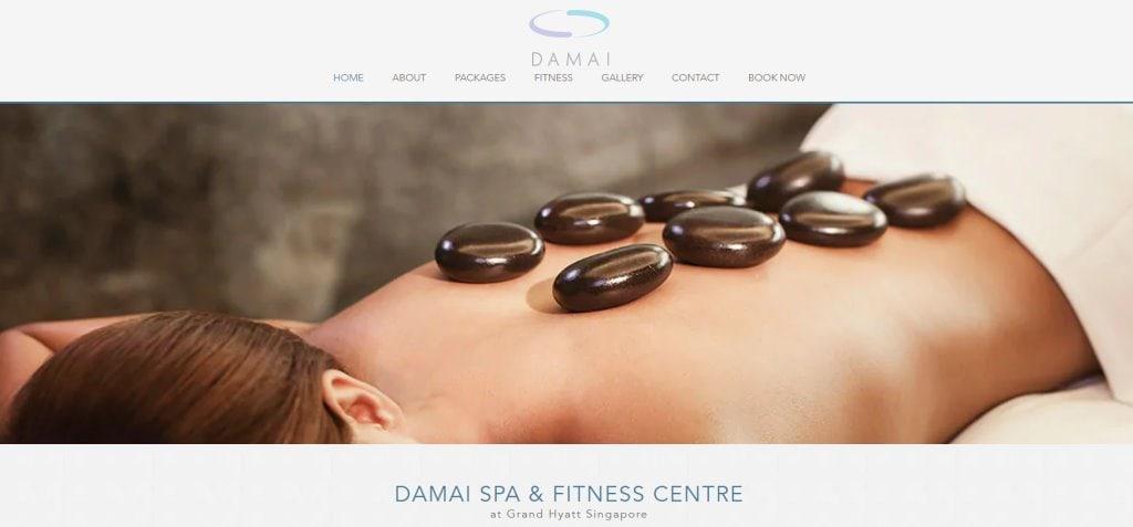 Damai Top Body Scrub Spas in Singapore