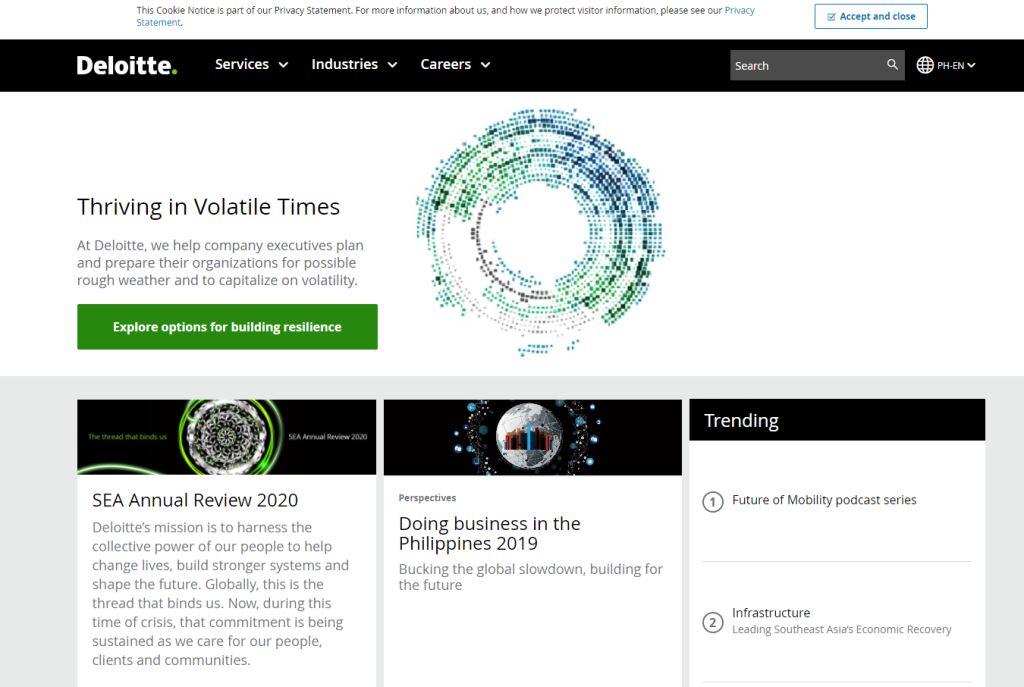 Deloitte Top Data Modelling Services in Singapore