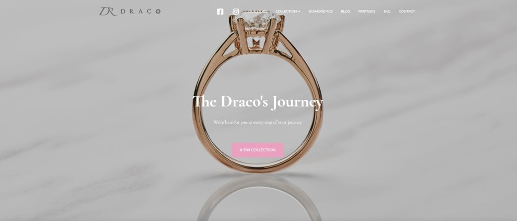 Draco Top Custom Ring Stores in Singapore
