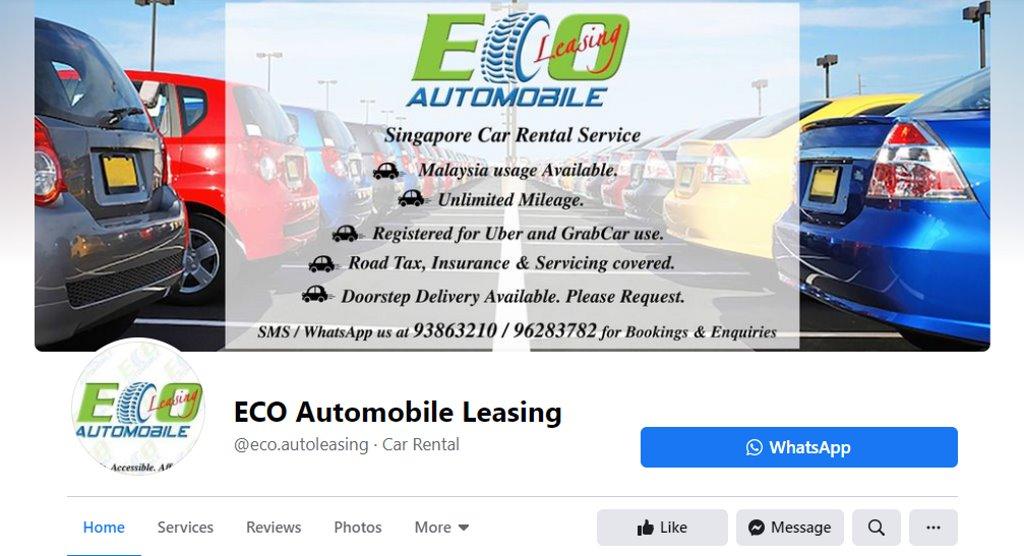Eco Automobile Top Car Leasing Companies in Singapore
