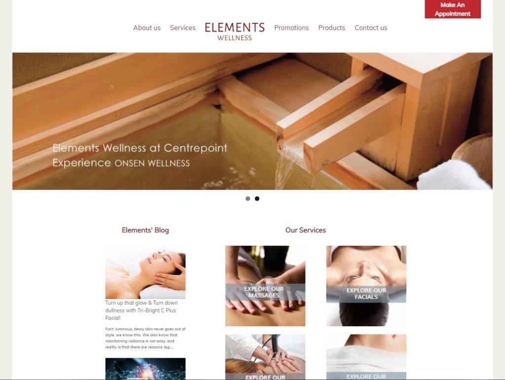 Elements Wellness Top Body Scrub Spas in Singapore