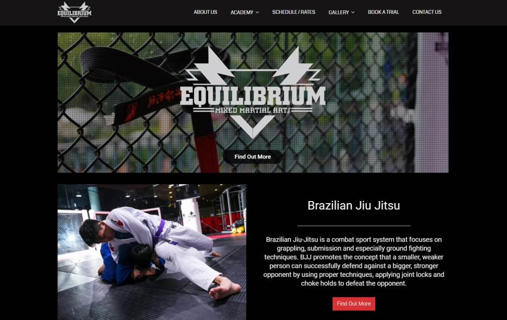 Equilibrium Top Judo Gyms and Classes in Singapore