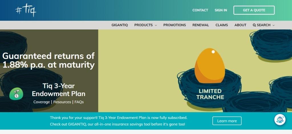 Etiqa Top Endowment Plans Providers in Singapore