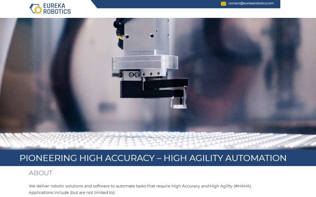 Eureka Robotics Top Robotics Companies in Singapore