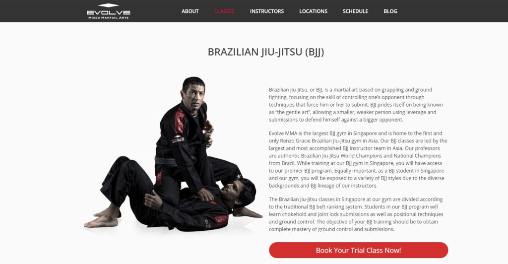 Evolve MMA Top Judo Gyms and Classes in Singapore