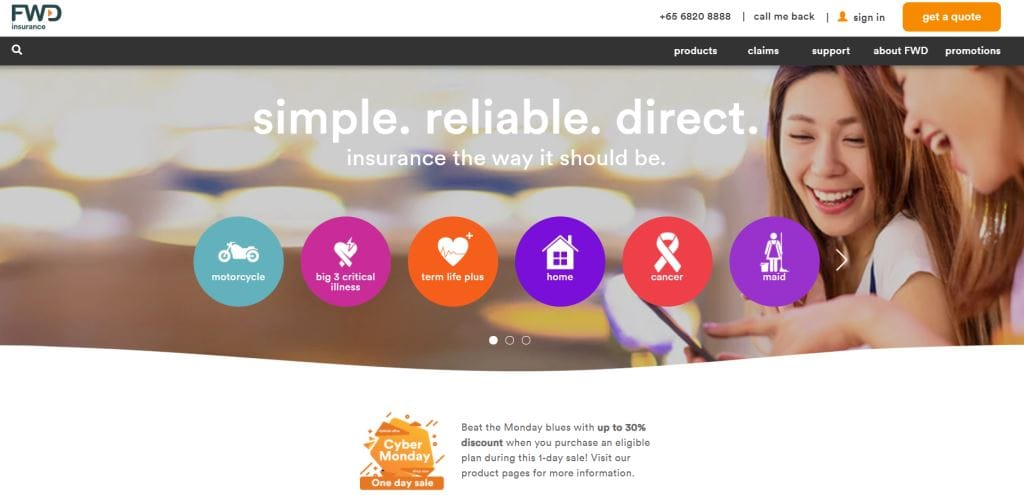 FWD Top Personal Accident Insurance Providers in Singapore