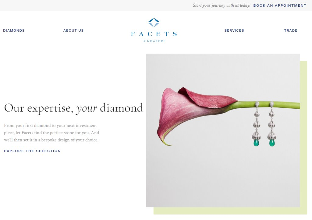 Facets Top Custom Jewellery Stores in Singapore